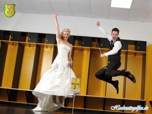Hochzeitsgolfen ist kinderleicht